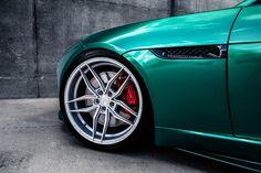 Jaguar F Type Ferrada F8 FR5 Felgen Chromgr%C3%BCn Folierung Tuning 4 photo