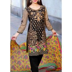 Buy Black Embroidered Swiss Lawn Dress by Charizma 2016, Buy Black Embroidered Swiss Lawn Dress by Charizma 2016 with world wide delivery