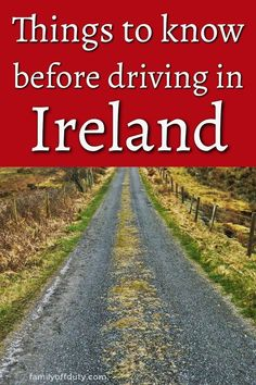 Looking for tips for driving in Ireland? Find useful tips for driving Irish roads, scenic drives and make the most of your Ireland road trip. Travel Usa, Travel Tips, Travel Europe, Travel Guides, Ireland Travel Guide, Ireland Destinations, Travel Destinations, Cool Places To Visit, Places To Travel