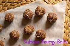 Sultana Energy Balls Recipe