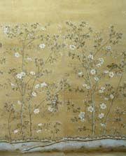 Paul Montgomery hand-painted wallpaper