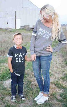 Adorable photo idea & shirts