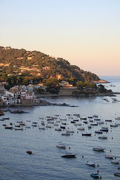 Callela, Costa Brava, Spain in September - this is where I would love to live!