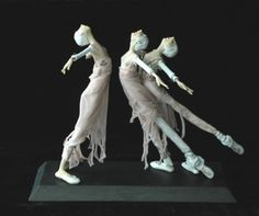 """kate church has """"a million strings attached to her imagination"""" from Daily Art Muse"""