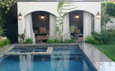 SHELTER Blog....Tia Zoldan's Cottage & Cabana....LOVE. Hollywood. 1920's style.