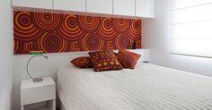 Da parede aos móveis: use tecidos para renovar a decoração