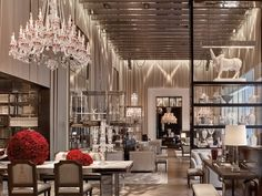 Three years after its initial conception as Midtown's Dark Crystal, the Baccarat Hotel is finally open and accepting guests on West 53rd Street. (The remaining condos in the tower...