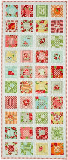Jen Daly Quilts: Little Squares - Free Pattern