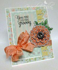 Card by Wanda Cullen using Verve Stamps.  #vervestamps #mojomonday