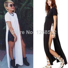 Hot!2014 new Womens Celebrity maxi casual shirt dress, Ladies patchwork sexy party bandage dress, swim wear long dress LQ9277