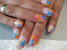 summer beach nail art | best and easy nail art designs summer 2015 nail designs 2015