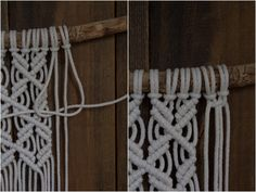 Clothes Hanger, Diy And Crafts, Creative, Projects, Shabby Chic, Challenges, Macrame Patterns, Coat Hanger, Log Projects