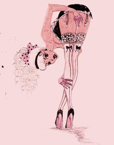 Paola Daprile: Pin Up and Cartoon Girls
