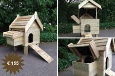 be www. Chickens Backyard, Go Outside, Bird Houses, Wood Projects, Sweet Home, Outdoor Decor, Animals, Home Decor, School