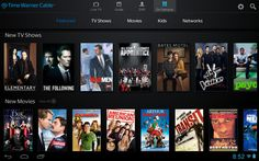 Time Warner Cable promises major upgrade to Android app The updated application supports live-streaming and offers over movies and television shows for in-home viewing. Remote Viewing, App Remote, Fast Internet, Video Page, Time Warner, Tv App, Easy Woodworking Projects, Tv Guide