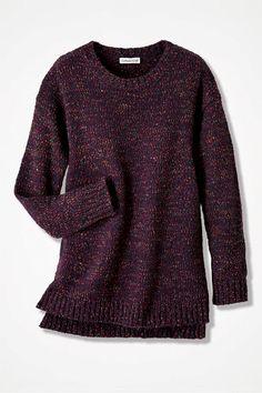 Confeti Boucle Sweater - Coldwater Creek