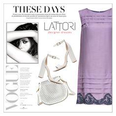 """LATTORI dress"" by water-polo ❤ liked on Polyvore featuring Lattori, Chanel, Cynthia Rowley, Schutz, polyvoreeditorial and lattori"