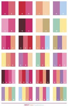 color schemes | Sweet color schemes, color combinations, color palettes for print ...