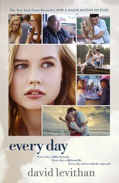 Check Out The Movie Tie-In Cover For David Levithan's EVERY DAY