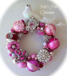 Beautiful pink wreath