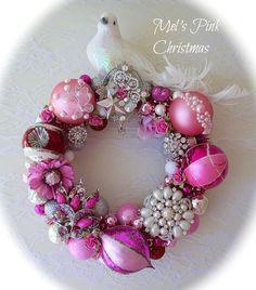 Beautiful pink wreath
