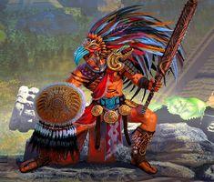 Warrior Fashion, Character Art, Character Design, Aztec Warrior, Sci Fi Environment, Fantasy Races, Pop Surrealism, Portrait Illustration, Art Drawings