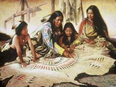 Indians - Art Paintings by Alfredo Rodriguez