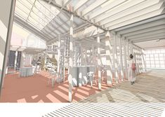 Author: John Chia Tutor: Simon Baker University of Sheffield Studio Re-Activist Architecture The Upcycler's Atelier is a Creative Production Hub which r