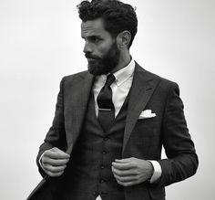 universeofchaos: Gentleman style - MenStyle1- Men's Style Blog