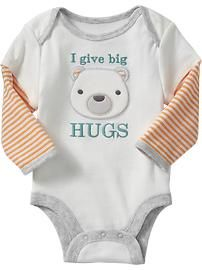Graphic 2-in-1 Bodysuits for Baby