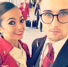 【イギリス】ヴァージン・アトランティック航空 客室乗務員 / Virgin Atlantic Airways cabin crew【UK】 Grace Perry, Virgin Atlantic, Photo And Video, Videos, Instagram