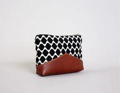 Universaltäschchen - Utensilientasche BANCO BLACK - ein Designerstück von TAHTI-bags bei DaWanda