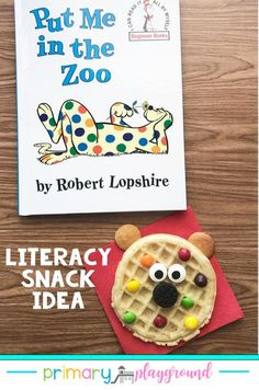 Read Across America week is quickly approaching, so for this week's Literacy Snack idea, we're talking spots! This is a perfect book for this time of year as well as a lot of the students are able to read this book on their own. #readacrossamericaweek #k