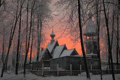 Assumption Church - the city of Ivanovo. alas, recently burned