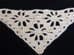 "Crochet :Punto en ""V"".  Parte 1"
