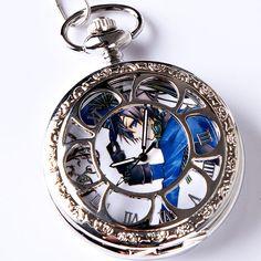 Black Butler Ciel Phantomhive pocket watch