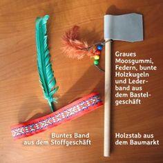 Kinder-Geburtstagsparty für kleine Indianer   www.nurkinderkram.de