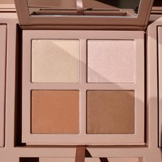 Our Powder Contour and Highlight Kits in LIGHT, MEDIUM and DARK/DEEP DARK each include two matte bronzing contour shades and two shimmer highlight shades Kkw Contour, Powder Contour, Contour Makeup, Kiss Makeup, Contouring And Highlighting, Beauty Makeup, Face Makeup, Arbonne Makeup, Makeup Makeover