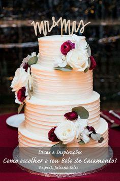 Dica no nosso Blog, como escolher o seu Bolo de Casamento!   Conte com a nossa Assessoria, para organizar, planejar e realizar o seu evento.   Juliana Sales (11) 9 5136-1131 julianarespect@gmail.com www.maisrespect.com.br