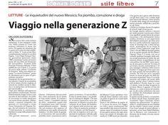 «Viaggio nella generazione Z» La guerra degli Zetas su Senza Soste