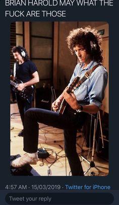 Brian May, Queen Photos, Queen Pictures, Rainha Do Rock, Queen Meme, Roger Taylor Queen, We Will Rock You, Somebody To Love, Queen Freddie Mercury