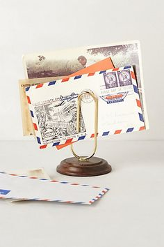 Paper Clip Letter Holder - anthropologie.eu