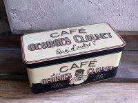 Boite à dosettes Georges Clounet, déco bistrot