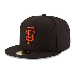 Men's San Francisco Giants New Era Black Game Diamond Era 59FIFTY Fitted Hat, Your Price: $34.99