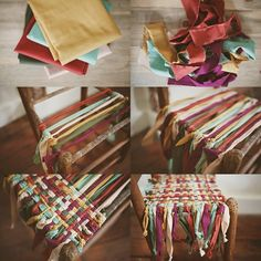 Makeover your old wooden chairs (2)