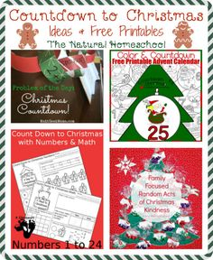 Here is a great list of some awesome DIY Christmas Tree crafts and more Christmas activities!