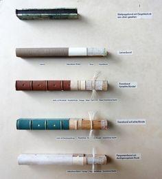 How to make books Buchbindewerkstatt www.lottassachen.de