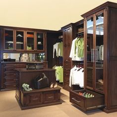 Beautiful closet.