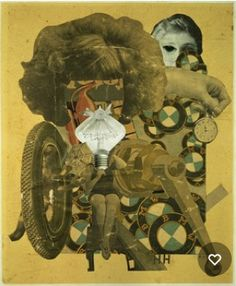 Hannah Hoch, The Beautiful Girl, 1920