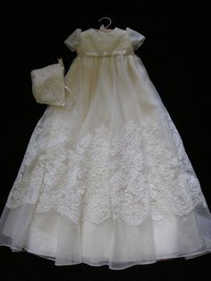 Stephany's Custom Christening or Baptism Gown by BertasBoutique